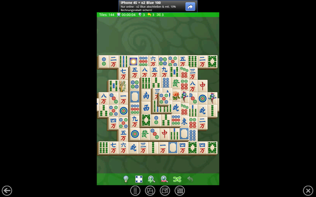 Mahjongg für Android im BlueStacks App Player unter Windows 7