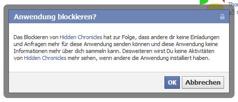 Facebook-Anwendung blockieren [Update #5]