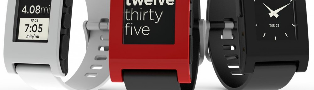 Die Pebble Smart Watch